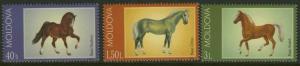 Moldova 424-6 MNH Horses