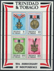 Trinidad and Tobago SG MS421 SC# 222a MNH 1972  Independence please see scan