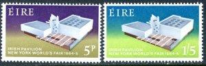 IRELAND Sc#194-195 SG#201-202 1964 New York World's Fair Complete Set OG Mint NH