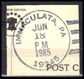 Cancel Immaculata, PA. E1362