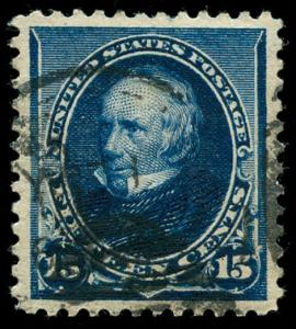 momen: US Stamps #227 Used PSE Graded XF-SUP 95