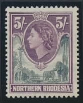 Northern Rhodesia  SG 72 SC# 72 MLH- see details