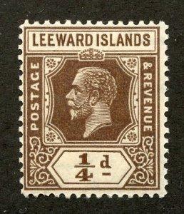 Leeward Islands, Scott #61, Mint, Never Hinged