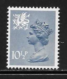 Great Britain Wales WMMH14 10 1/2p Machin MNH