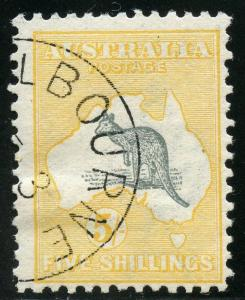AUSTRALIA SCOTT#12  5/  KANGAROO USED--SCOTT VALUE $260.00