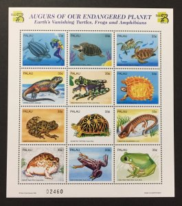 Palau 1999 #495 S/S, Endangered Species, MNH.