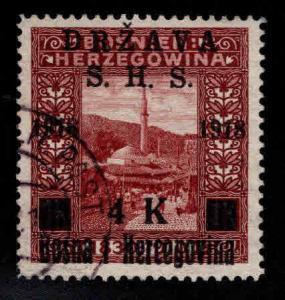 Yugoslavia Scott 1L15 Used stamp 1918