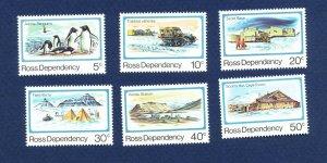 ROSS DEPENDENCY   # L15 - L20  - VFMNH - Scott Base 1982