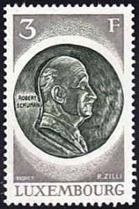 Luxembourg # 515 mnh ~ 3fr Robert Schuman Medal