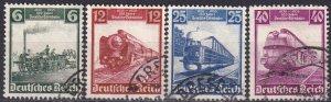 Germany #459-62  F-VF Used CV $5.00  (Z3923)