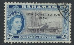 Bahamas  SG 240 SC# 197 Used New Constitution 1964 see scan