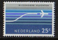 Netherlands 1966 MNH Air  ( special flights )  complete