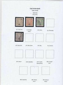 Cape Verde  Stamps Ref 14997