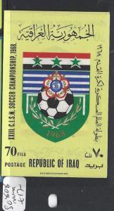 IRAQ   (PP3112B)  1968 FOOTBALL CHAMPIONSHIP SG MS 808   MNH