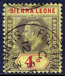 Sierra Leone - Scott #96 - Used - SCV $1.75