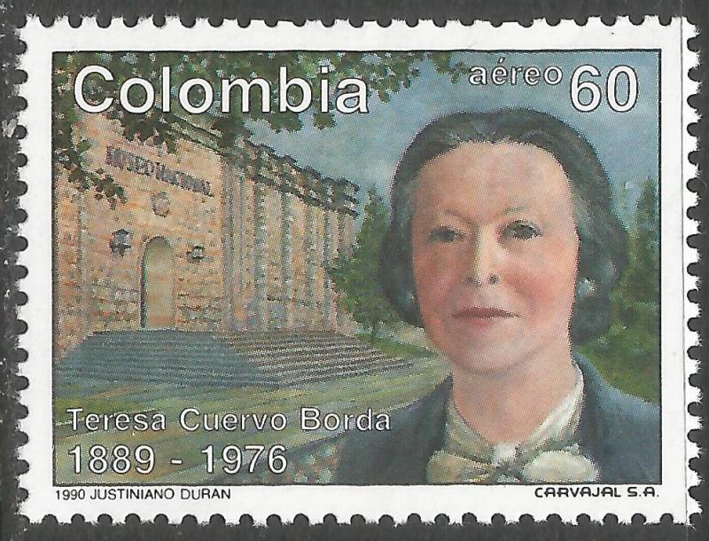 COLOMBIA C821 MNH X804