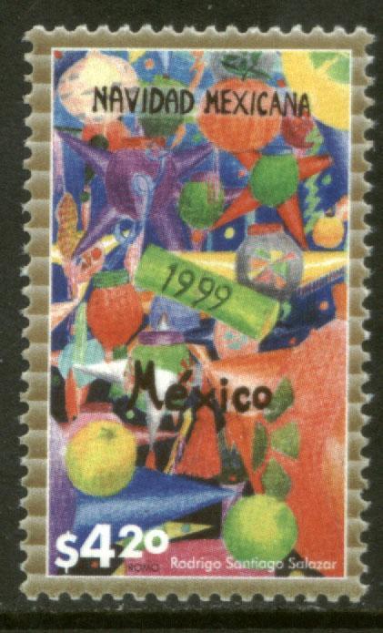 MEXICO 2174 Christmas Season, 1999. MNH