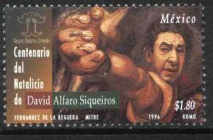 MEXICO 2009, David Alfaro Siqueiros Centenary of his Birth. MNH, VF.