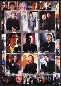 Kalmikia Republic 2002 La Femme Nikita - Roy Dupuis imper...