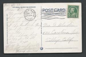 Scott # 552 on Post Card posted Dec. 1, 1932  Boston Mass