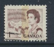 Canada SG 579pa Used 1 centre phosphour band