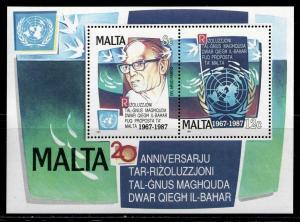 MALTA 1987 MNH SC.709 UN
