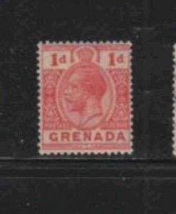 GRENADA #92  1924  1p  KING GEORGE V     MINT  VF NH  O.G