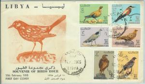 67540 - LIBYA - Postal History -  FDC Cover 1965 - BIRDS Hawk