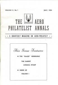 The Aero Philatelist Annals: A quarterly magazine on Aero...