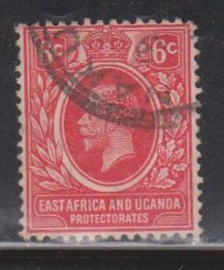 EAST AFRICA & UGANDA Scott # 42 Used - KGV Definitive