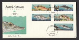 BAT 1999 Fish FDC