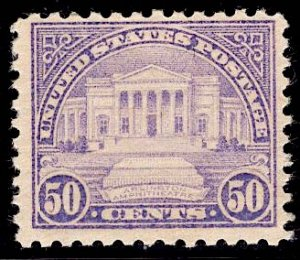 US Stamp #701 50c Arlington Ampitheatre MINT NH SCV $50.00