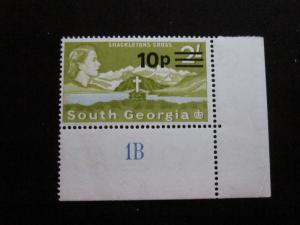 South Georgia #27 Mint Never Hinged - (W8) I Combine Shipping