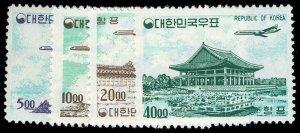 KOREA C27-30  Mint (ID # 65786)