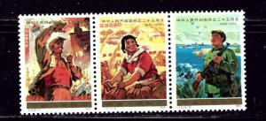 P R of China 1207a MH 1974 Strip of 3