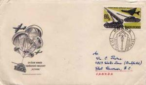 Czechoslovakia, First Day Cover, Military Related