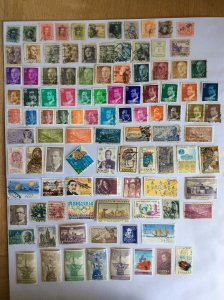Spain 100+ stamps - Lot C
