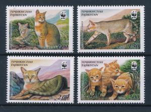 [53975] Tajikistan 2002 Wild animals Mammals WWF Wild Cats MNH