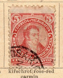 Argentina 1888-90 Early Issue Fine Used 5c. NW-11778