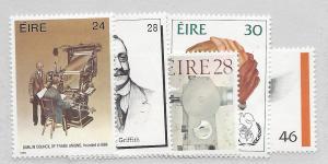 Ireland, 669-73, Various Designs Singles,**MNH**