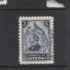 GUATEMALA 317 VFU E32 A