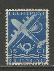 Netherlands Antilles   #C34  Used  (1947)  c.v. $0.25