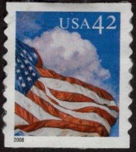 Scott 4235 U.S. Flag in the Day  - Used.