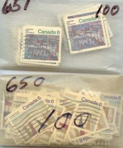 Canada - 1974 Christmas Stamps X 1500 Sets #650-651