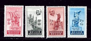 Belgium B455-58 MH 1948 complete set