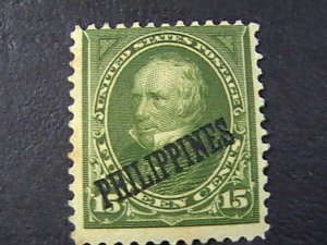 PHILIPPINES # 218-MINT/HINGED---SINGLE---1899-1901