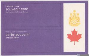 Canada USC #SC9 Cat. $5.00 1967 Souvenir Card VF