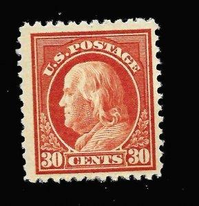 US 1917 Sc# 516 - 30 c  FRANKLIN  Mint NH - Crisp Color