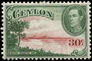 Ceylon Scott #285 Mint