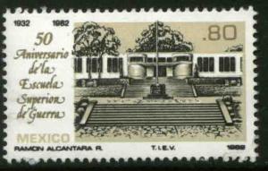 MEXICO 1272, 50th Anniversary Superior Military Academy MNH